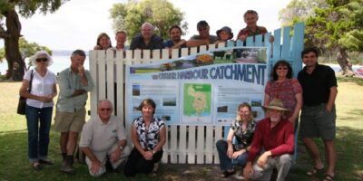 Many helping hands improve ailing Albany harbour's health