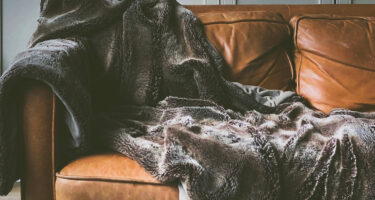 A fleece blanket is invisible to echolocation, even though you can see it visually .