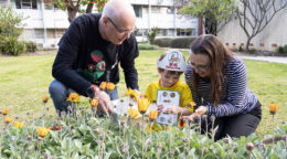 Hunting for 'Mini Beasts' for National Science Week