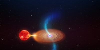 "WA Astronomers track ""Spinning Top"" black hole"