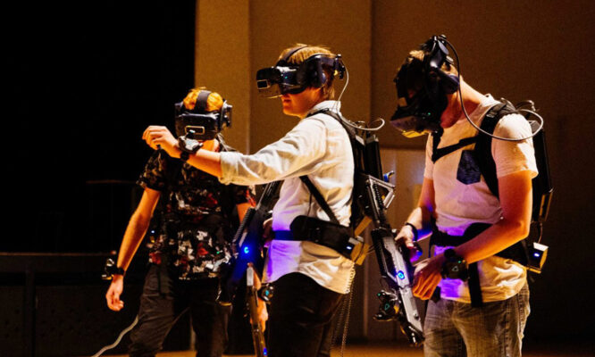 Bringing reality into the world of VR